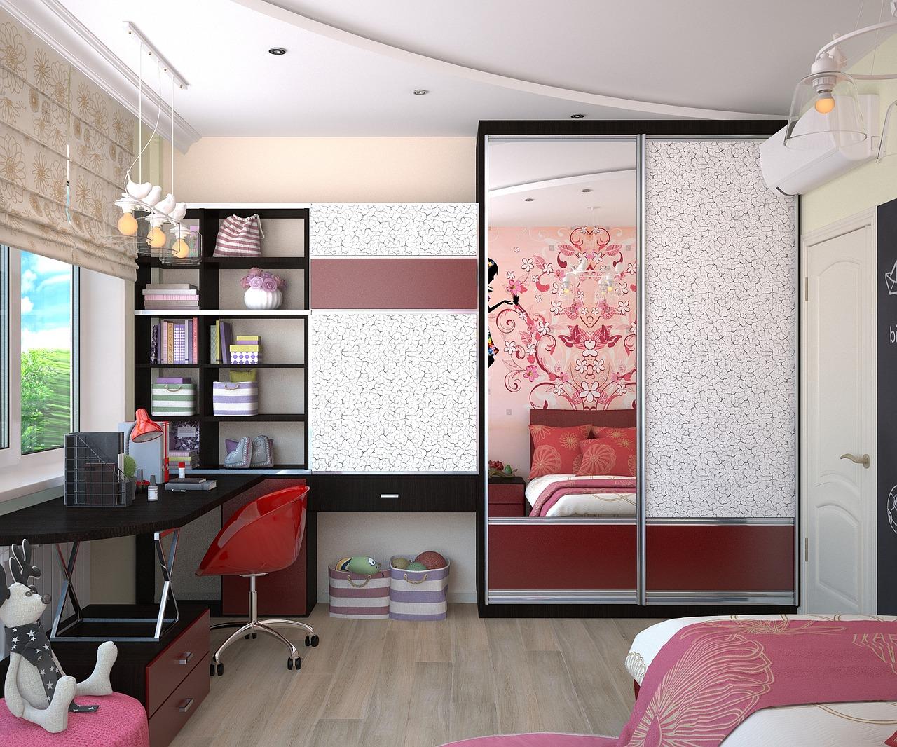 szafy dla dziewczynek i do pokoju młodzieżowego