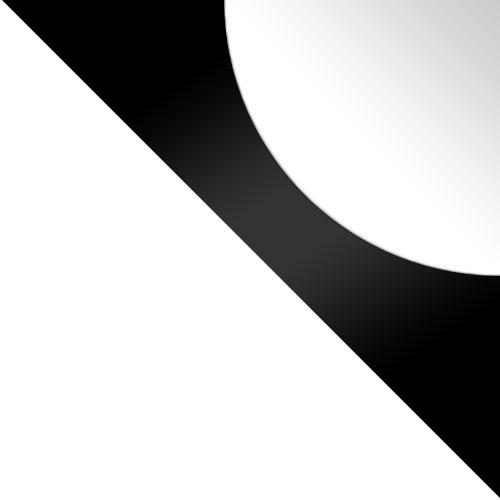 Biały / Czarny Lacobel + Biały Lacobel