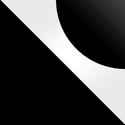 Czarny / Biały Lacobel + Czarny Lacobel