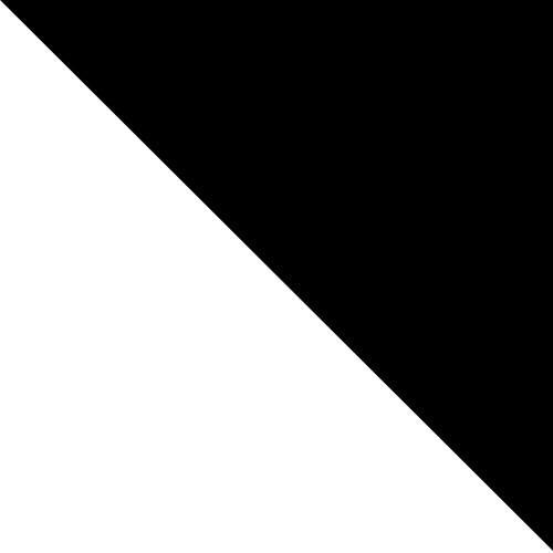 Biały Mat / Czarny Mat