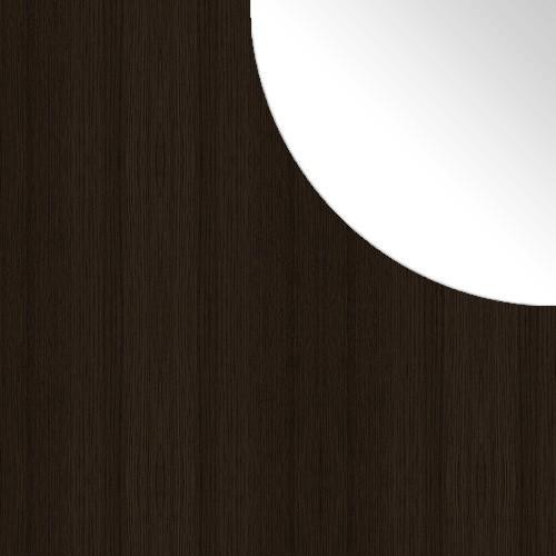 Choco / Biały Lacobel